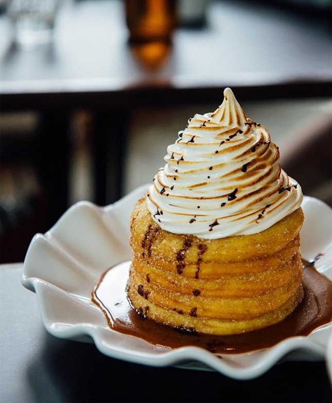 Churros donut stack - Is it a donut or churros?