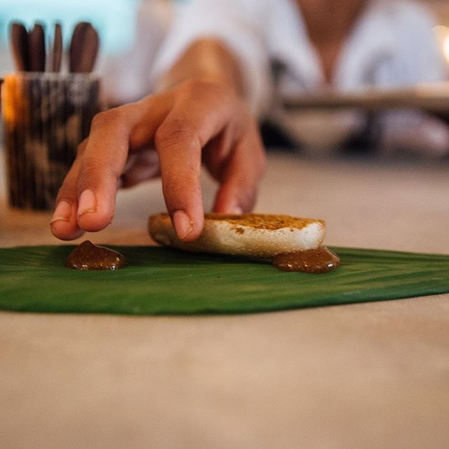 Food from the heart Methodical and purposeful - One dish leads to another In an exploration of ingredients and its many forms - #monster✖️Bali #hungryhungrymonster #room4dessert #explorebali #burpple