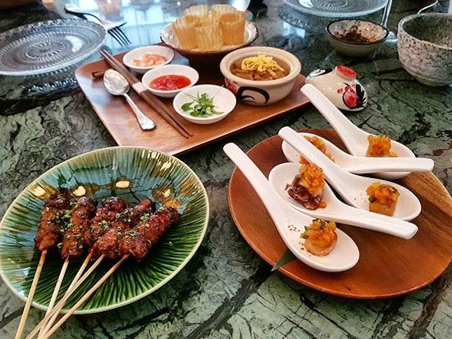 [Candlenut @candlenutsg] Peranakan food with a twist!