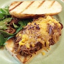 The Phillys Pulled Beef Sandwich at Aria (Cafe) SUTD.