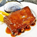 Country Baked Ribs @ Country Manna in West Coast Plaza.