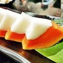 Papaya With Coconut Jelly (SGD $5.80) @ Jim Garden.