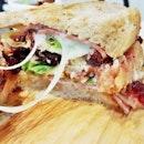 Triple Decker Melt Sandwich (SGD $15) @ The Bread Table.