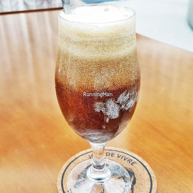 Calamity Affogato Beer Float (SGD $15) @ Five Marbles Craft Beer Restaurant.