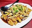 Rojak Chicken (SGD $16) @ Long Jiang Chinos.