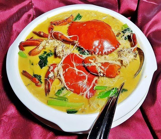 Cheesy Crab Bee Hoon With Crab Roe (SGD $44.80) @ Long Jiang Chinos.