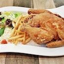 Signature Golden Fried Spring Chicken (SGD $18.90) @ Tenderfresh Classic.