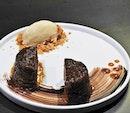 Sticky Date Pudding / Sticky Toffee Pudding (SGD $10) @ Fat Belly.