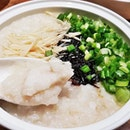 Fish Porridge With Special Condiments (SGD $9.90) @ One Bowl Restaurant & Bar.