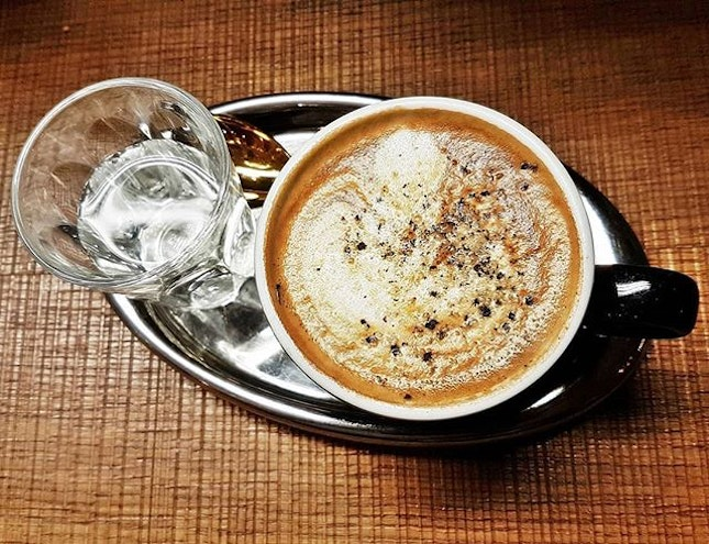 Coffee Latte Pepper Agave (SGD $6) @ The Coffee Academics.
