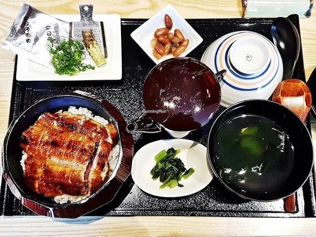 Hitusumabushi (SGD $29.50++) @ Man Man Japanese Unagi Restaurant.