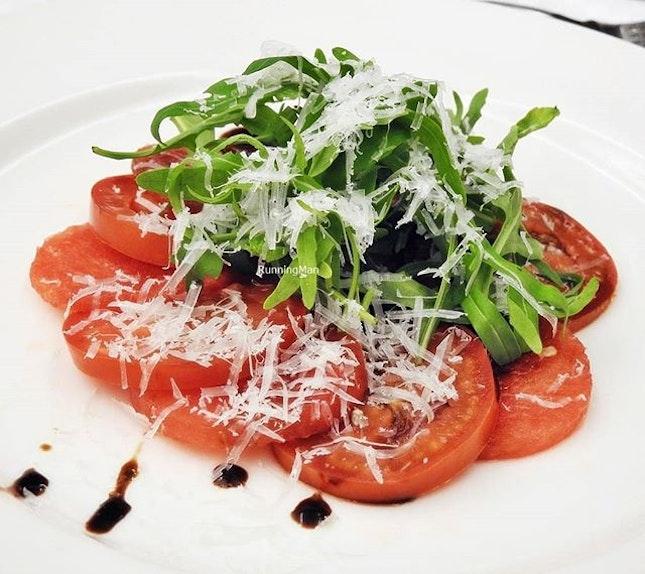 Tomato Watermelon Carpaccio @ Element Restaurant.