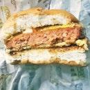 Ramly Burger Beef (SGD $4) @ Pasar Malam / Night Market Bazaar.