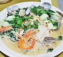 Prawn Lala White Bee Hoon (SGD $15) @ Don Signature Crab.