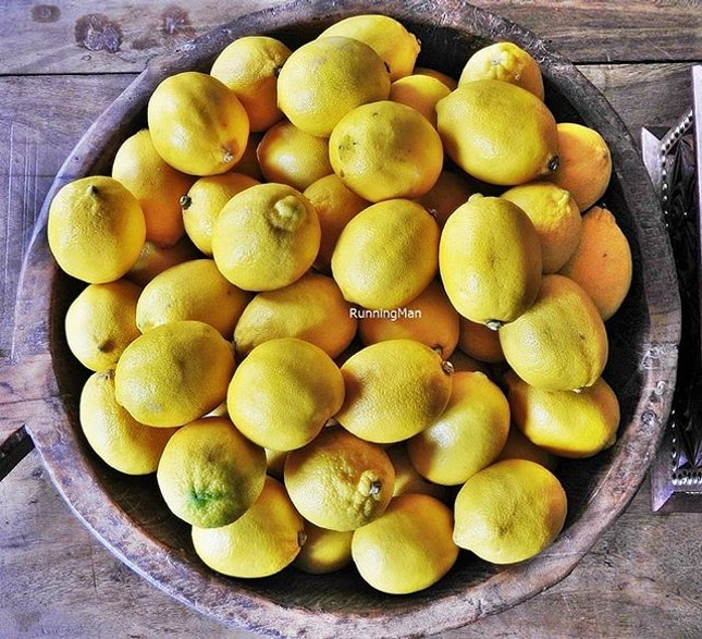Bowl Of Lemons @ Kafe Utu.