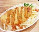 Feesh & Chips Mala Mayo (SGD $9.90) @ Hawkerman.