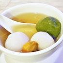Yuan Yang Tang Yuan Dumplings (SGD $4.80) @ Xi Yan.