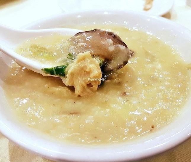 Crab Porridge (SGD $8 per 100g, $64 for 800g) @ Tonny Restaurant.