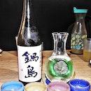 Nabeshima Pink Label Sake (SGD $88 for 720ml bottle) @ Big Sake Bar.
