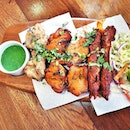 Tandoori Mix Grill (SGD $32.50) @ Zaffron Kitchen.