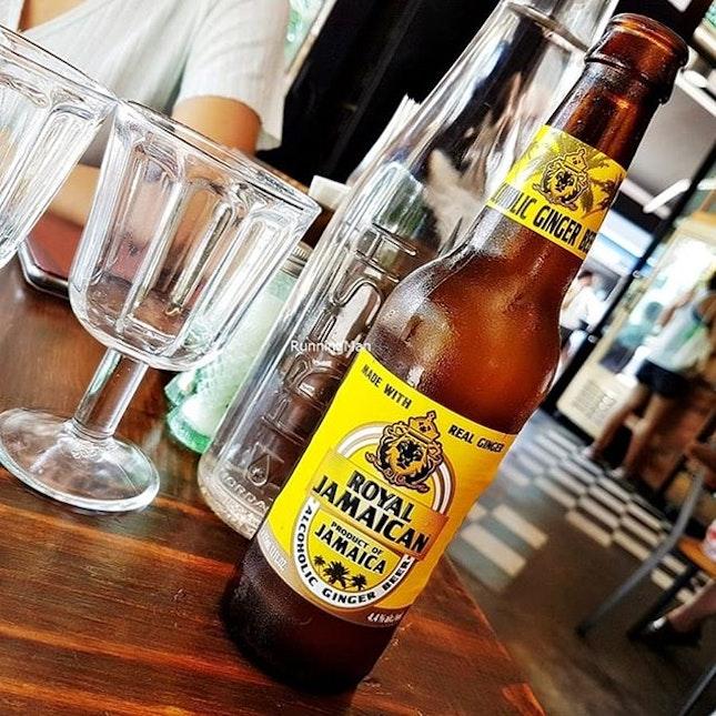 Ginger Beer Alcoholic (SGD $13) @ Firebake.