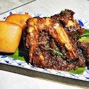 Black Pepper King Prawn (SGD $13.80) @ NUDE Seafood.