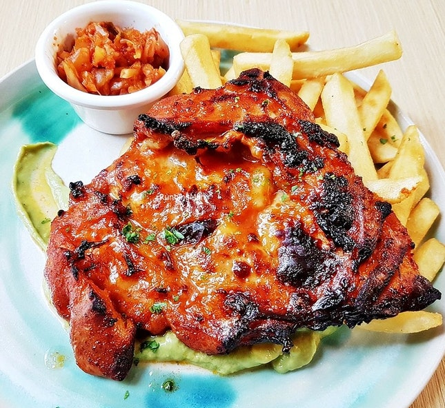Gochujang Grilled Chicken (SGD $16) @ The Kins' Specialty Coffee.