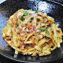 Tagliatelle Bolognese (SGD $20) @ Roots Mediterranean.