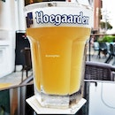 Beer Hoegaarden Wheat (SGD $12) @ Black Fairy Coffee.