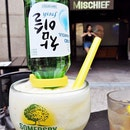 Cocktail Upside Down Soju Slushie (SGD $26) @ Mischief.