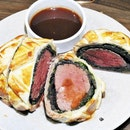 Beef En Croute (SGD $190++ set for 4 pax) @ FrapasBar.