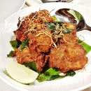 Chicken Berempah (SGD $18) @ Indigo Blue Kitchen.