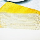 Vanilla Mille Crepe Cake (SGD $9.50) @ Lady M Confections.