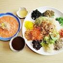 Kyoji Yu Sheng (SGD $68) @ Kyoaji Dining.