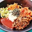 Bibimbap Beef (SGD $8.90 @ Jinjja Chicken.