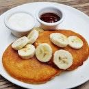 Buttermilk Pancakes (SGD $12) @ Boomarang Bistro & Bar.