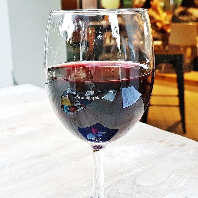 Wine Rothbury Estate Cabernet Sauvignon Merlot (SGD $13) @ Boomarang Bistro & Bar.