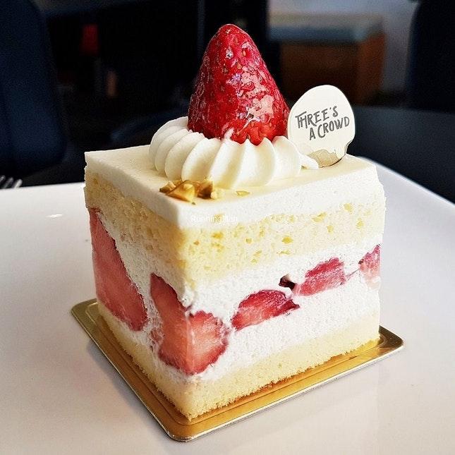 Strawberry Shortcake (SGD $6.90) @ Three's A Crowd.
