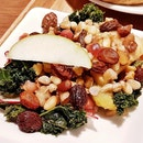 Duo Apple Kale Salad, Maple White Wine Vinegar Dressing (SGD $2.80) @ Muji Cafe.