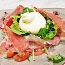 Burrata Pomodoro E Prosciutto Crudo (SGD $30) @ The Mast Of Mozzarella & Co.