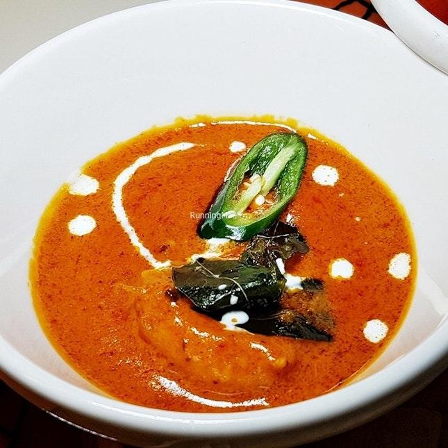 Goan Prawn Curry (SGD $118++ per pax buffet) @ Triple Three Restaurant.