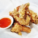 Huraideu Chikin / Fried Chicken Wings (SGD $17.50 Half) @ Three Meals A Day.
