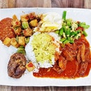 Nasi Padang Sambal Sotong (SGD $7.40) @ Coba Coba.