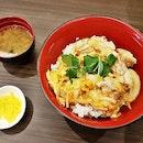 Oyako Don Set (SGD $12.80) @ Tamago-En.