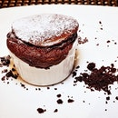 Italian Chocolate Souffle @ Lime Restaurant.