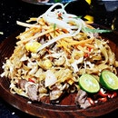 Sliced Beef Mee Goreng (SGD $14) @ The Sampan.