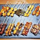 Kushiyaki Chef's Choice Platter @ The Parlour Mirage.