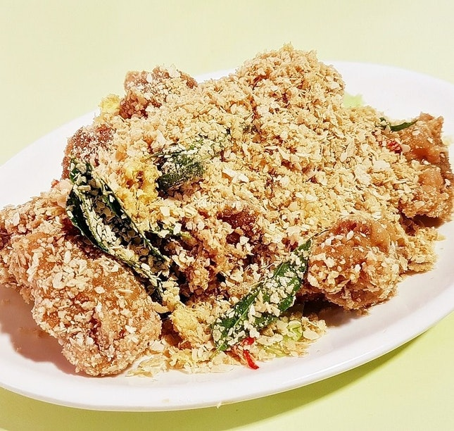 Cereal Chicken Ball (SGD $12) @ Hong Kong Chef's Kitchen.