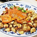 Garlic Baked Crab (SGD $72 for 800g) @ New Ubin Seafood.