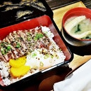 Beef Steak With Truffle Shoyu Donburi Set (SGD $28) @ SOCIEATY.